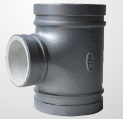 Galvanized Polypropylene Plastic Water Pipe Fittings T Joint Anti Rust