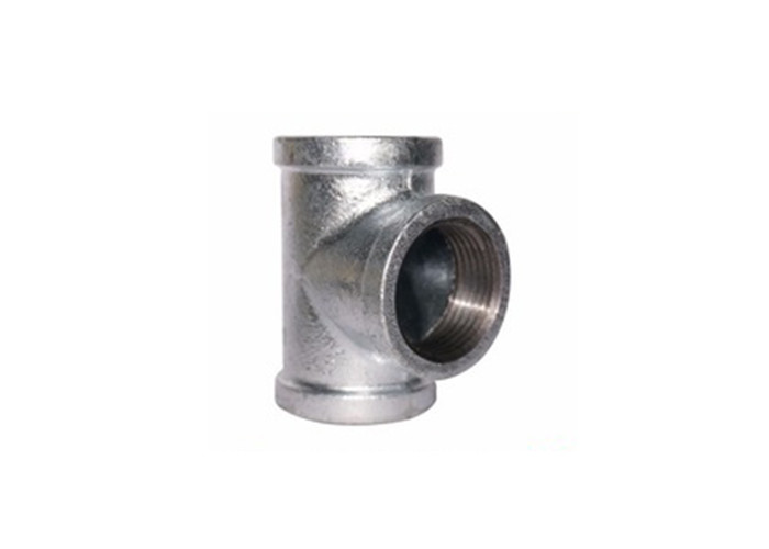 1 Inch Threaded Cast Iron Pipe Fittings Plumbing Sanitary Tee Class 150 / 300 Y Piece
