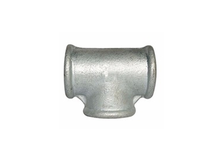 High Tensile Strength Malleable Iron Tee BSPT Female Tee Fitting For Water Pipe